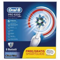 ORAL-B by Braun elektrische Zahnbürste Pro 6200 mit gratis Smartguide ()