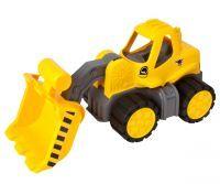 BIG POWER WORKER RADLADER 6837 Sandspielzeug Fahrzeug