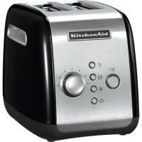 KitchenAid 5KMT221EOB Toaster onyx schwarz