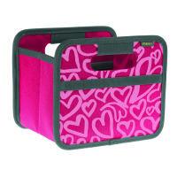 Meori Faltbox Mini Berry Pink Hearts