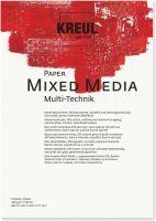 KREUL Paper Mixed Media 10 Blatt DIN A3 Untergründe Blöcke (69022)