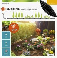Gardena Micro-Drip-System Start Set Pflanzreihen S (Display) Tropfrohr oberirdisch (13010-32)