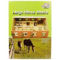 Kids Globe Bauernhof Pferdestall 1:24