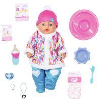 Zapf Creation BABY born Puppe 43cm Soft Touch girl Im Winteroutfi