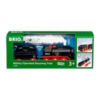 BRIO Batterie-Dampflok mit Wassertank