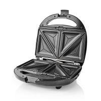 Nedis Multi Grill / Sandwich / Waffel / Grill / 800 Watt / Schwarz