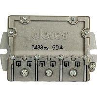 Televés Sat-Verteiler F-Stecker 9.5 dB / 5-2400 MHz - 5 Ausgänge