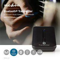 Nedis Bluetooth® Transmitter / Anschlüsse – Eingang: 1x TosLink Buchse / AptX ™ Low latency / AptX™ / SBC / Bis zu 2 Geräte / Schwarz