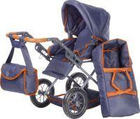 KNORR Toys Puppenwagen Ruby Dark Blue (55207321)