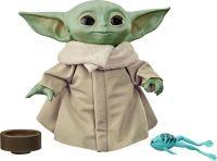 Hasbro Star Wars Grogu The Child, sprechende Yoda Plüsch-Figur