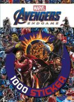 cbj Marvel Avengers Endgame # 1000 Sticker (67918401)