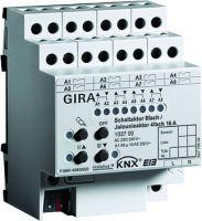 Gira Schalt-Jalousieaktor 8-fach/4-fach 16 A KNX/EIB REG