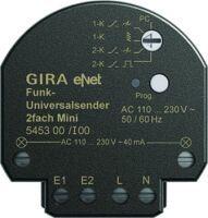Gira Funk Universalsender Mini 2-fach eNet