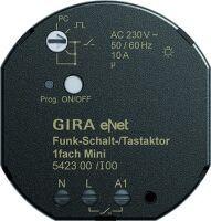 Gira eNet Funk-Schalt-/Tastaktor 1-fach Mini