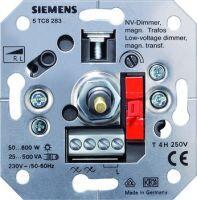 Siemens NV-Dimmer für MAGNET. Trafos R L mit Druck-aus/Wechselschalter UP