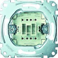 Merten Ausschalter-Einsatz 2-polig 10 AX AC 250 V Steckklemmen