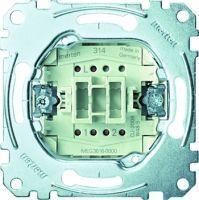 Merten Aus/Wechselschalter-Einsatz 1-polig 16 AX AC 250 V Steckklemmen