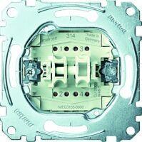 Merten Doppeltaster-Einsatz 2 Schließer 1-polig 10 A AC 250 V Steckklemmen