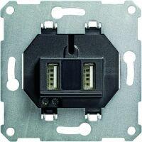 Gira USB SPANNUNGSVERS. 2F EINSATZ (235900)