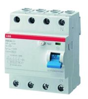 ABB Sace Fehlerstrom-Schutzschalter F204AC-100/0,03