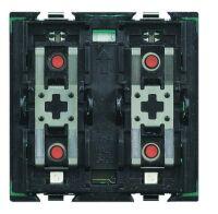 Bticino Tastsensor 2-fach Ansteuerung eines Aktors Einzel- oder Doppellasten