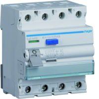 Hager Fehlerstrom-Schutzschalter 4-polig 40 A 30 mA Typ G/AC