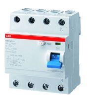 ABB Sace FI-Schutzschalter 4P,Typ A,40A,300mA
