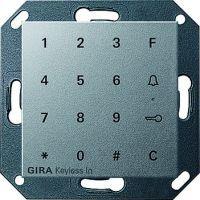 Gira Keyless In Codetastatur für System 55 Aluminium