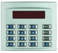 Bticino Frontblende für Code-Lock- Modul - alu