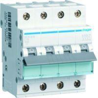 Hager Leitungsschutzschalter 3P+N 6kA C-Charakteristik 16A 4 Module