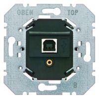 Berker USB Datenschnittstelle Up instabus KNX/E IB schwarz