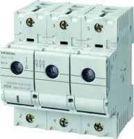 Siemens MINIZED-Lasttrennschalter für NEOZED-Sicherungseinsätze D02 3pol.