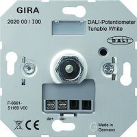 Gira DALI - Potentiometer Tunable WH Einsatz