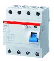 FI-Schalter F204A-40/0,03G 40A 4pol. 30mA ststr., Type G/A