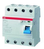 ABB Sace Fehlerstrom-Schutzschalter F204AC-63/0,1
