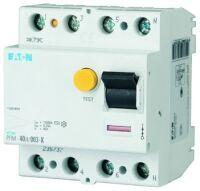 Eaton Fehlerstromschutzschalter 4-polig 63A 300mA Typ S/A