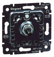 Dreh Dimmer 230V/50Hz Druck-/Wechseldimmer 420VA Einsatz