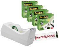 SCOTCH SM4-M-EU 19mm x33m Tischabroller +4RL mint