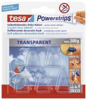 TESA 58900-00013 Hilfshaken Transparent 5Stück(e)