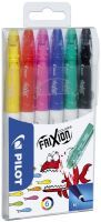 PILOT PEN Pilot FriXion Colouring Medium Schwarz - Blau - Grün - Rot - Gelb Filzstift