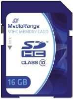 MEDIA RANGE MR963 16GB Speicherkarte Memorycard SDHC