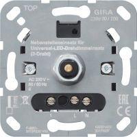 S3000 Dreh-Nebenst.eins. 3-Dr LED-Dimmer Einsatz