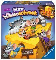 """Ravensburger Kinderspiele """"Max Mäuseschreck"""" 4 - 99 Jahre Tiere Spiele von Ravenburger"""