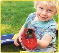 Speedboot + 1 Figur, Wasserspielzeug