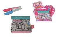 Color me mine CMM Glitter Couture Travel Purse
