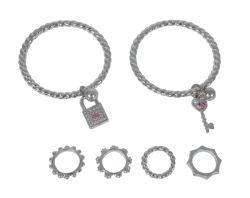 Simba SLG Ring- und Armreif Set, 2- sort.