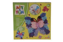 Art & Fun A&F Filzbasteln Schmetterling