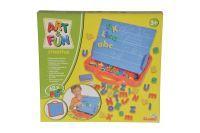 Art & Fun A&F ABC Magnettafel im Koffer