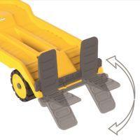 Power-Worker Mini Transporter + Bagger, Spielfahrz