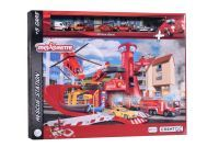 Majorette Creatix Rescue Station + 5 Vehicles